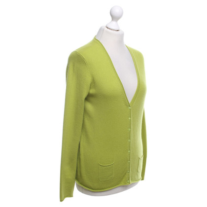 Roeckl Lime groen vest in cashmere