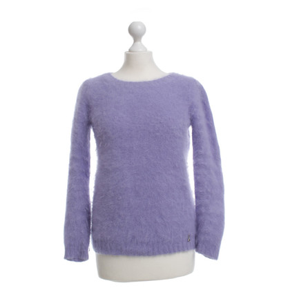 Patrizia Pepe Angora sweater in Lilac