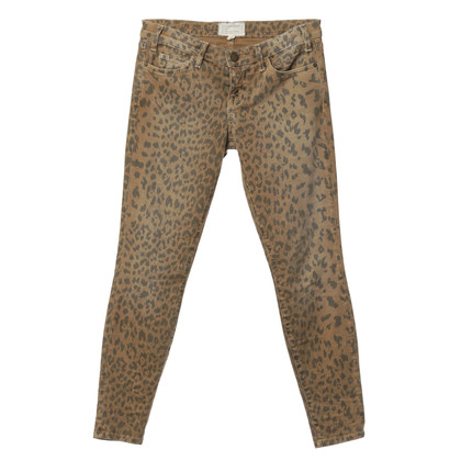 Current Elliott Jeans con stampa animalier
