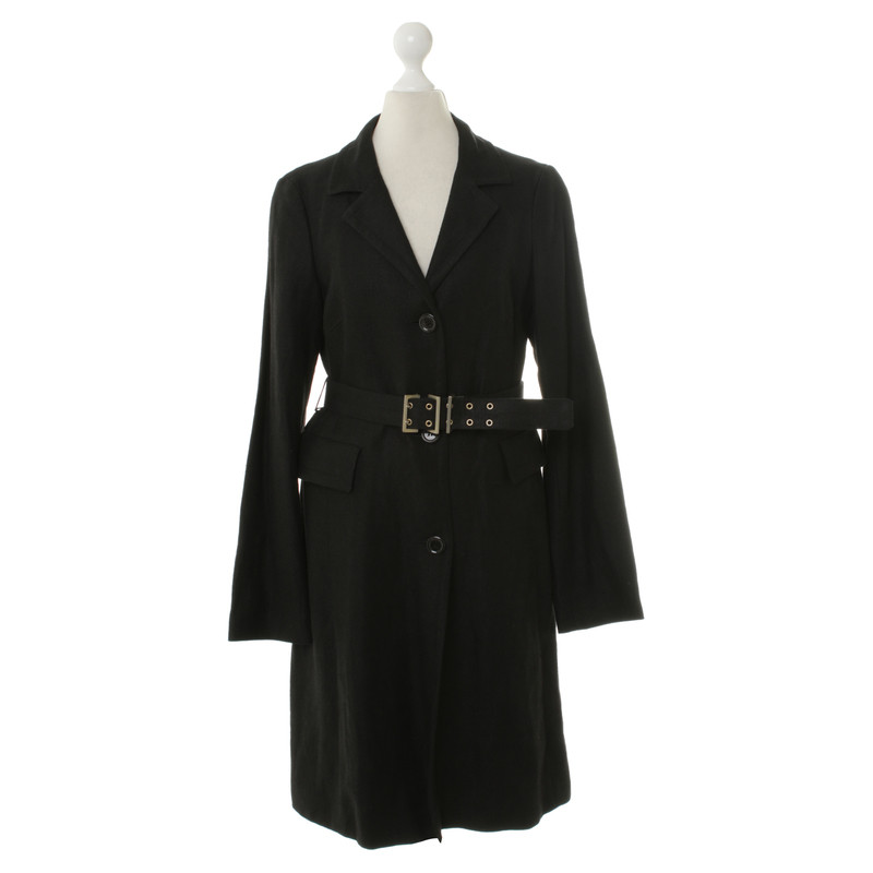hugo boss trench coat in black buy second hand hugo boss trench coat in black for. Black Bedroom Furniture Sets. Home Design Ideas