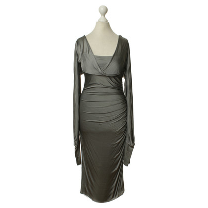 Gucci Jersey dress in silver