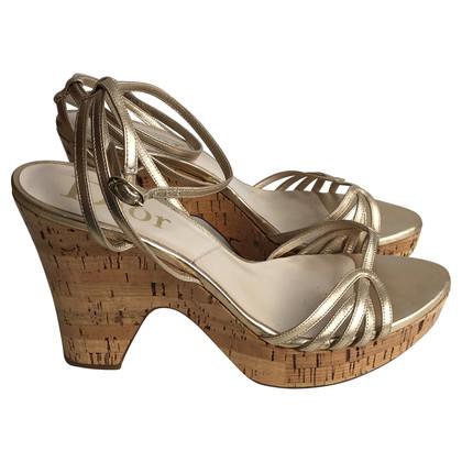 Christian Dior Golden Sandal