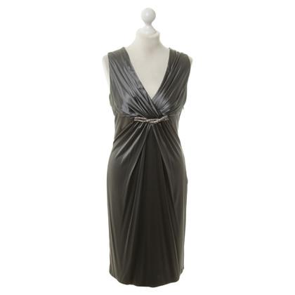 Versace Silk dress in grey