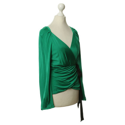 "Diane von Furstenberg Green blouse ""Bill"""
