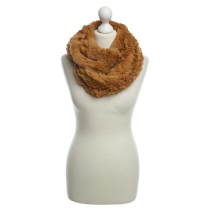 Marc Cain Round fur scarf