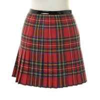 Dsquared2 Pleated skirt in the Tartan