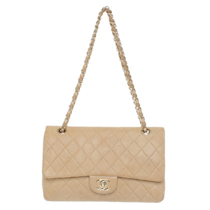 "Chanel ""Classic Matrimoniale Flap Bag Medium"" in Beige"