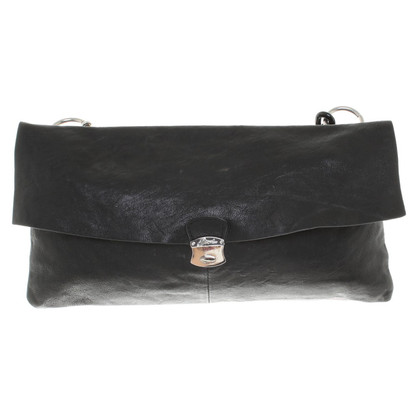 Diesel Black Gold Bag in Black / Silver