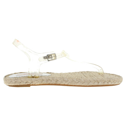 Kenzo Sandals in cream