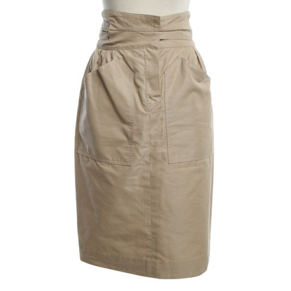 Chloé Silk skirt in beige