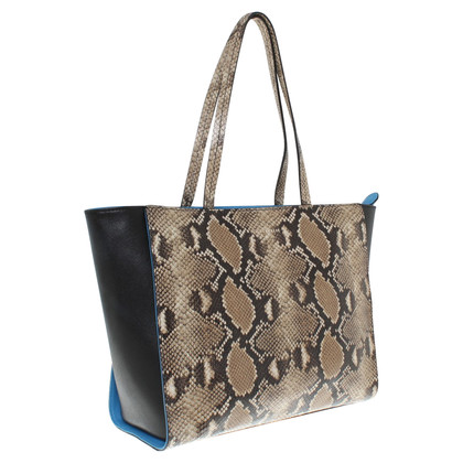 Coccinelle Shopper met animal print