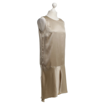 Brunello Cucinelli Silk dress in beige