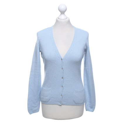 Malo Cashmere Trui in Light Blue