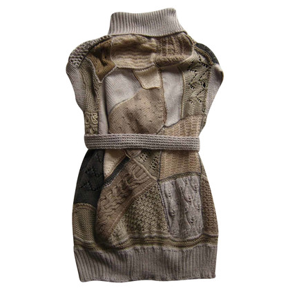Clare Tough Hand knitted merino wool vest
