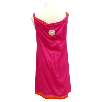 Jil Sander 2farbiges shirt jurk