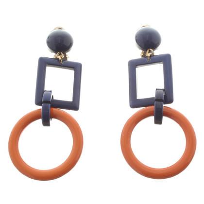 Marni Earrings in bicolour
