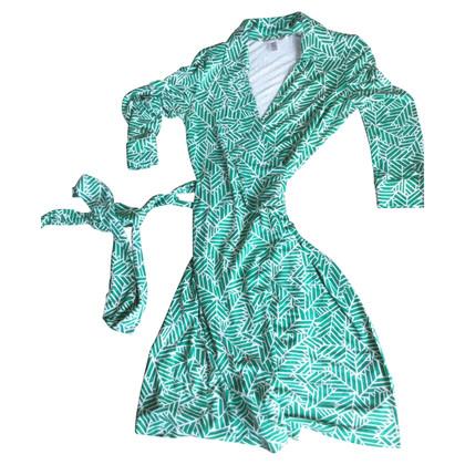Diane von Furstenberg Bedrucktes Wickelkleid