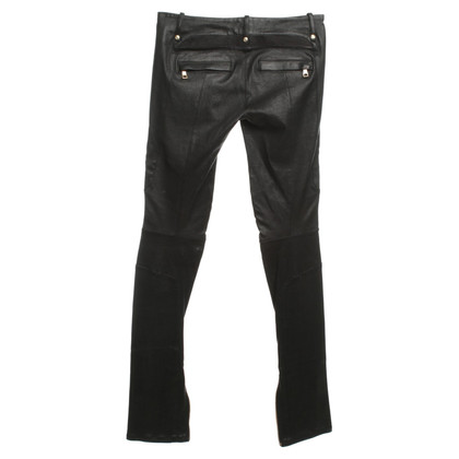 Balmain Leather pants in black