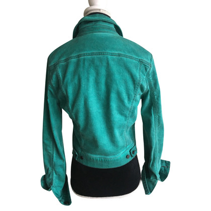 Jet Set Denim jacket in green