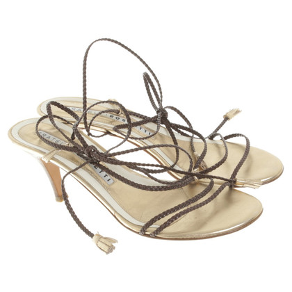 Fratelli Rossetti Sandals in gold