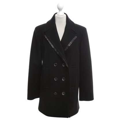 Alexander Wang Caban jacket in black