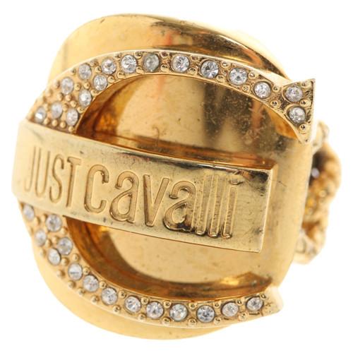timeless design ca46c 93459 Just Cavalli Ring with gemstone trim - Second Hand Just ...