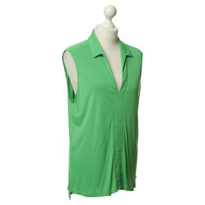 Gianni Versace Blouse korte mouwen in groen