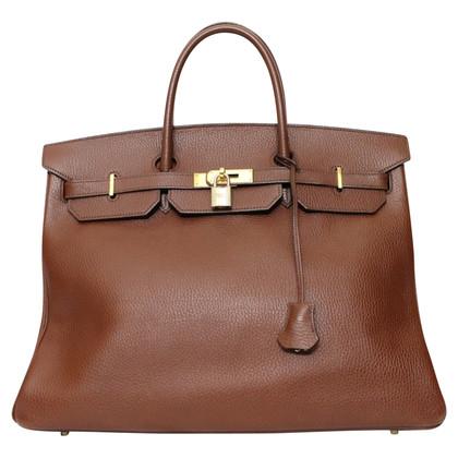 "Hermès ""Birkin Bag 40 Ardennes Leather"""