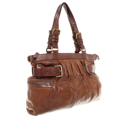 Hugo Boss Large leather handbag