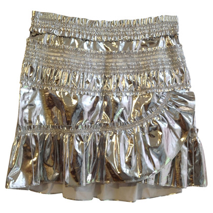 Isabel Marant Rock in look metallico