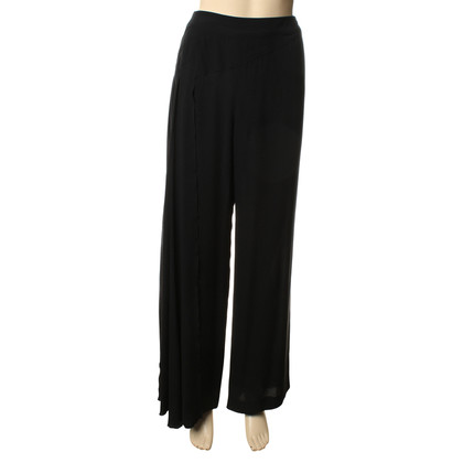 Chanel Trousers, black, side detail, sz. 40