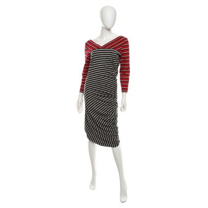 Sport Max Dress with stripe pattern
