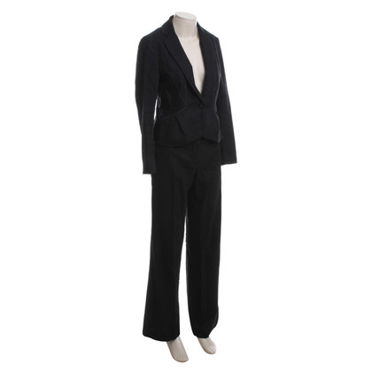 Paule Ka Trouser suit with pinstripes
