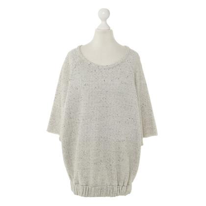 Iro Melierter Baumwoll-Pullover