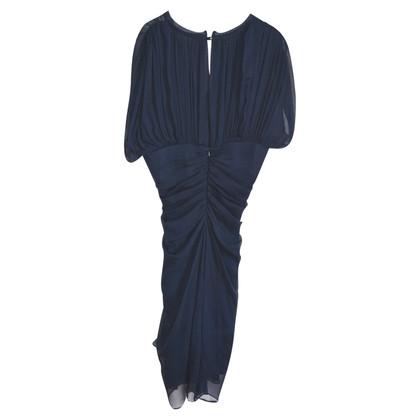 Diane von Furstenberg Gedrapeerde zijden jurk