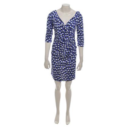 Diane von Furstenberg Kleid mit Punktemuster