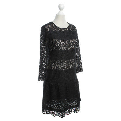 Sandro Lace dress in black