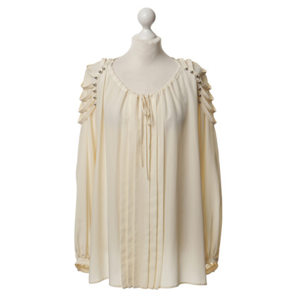 Barbara Bui Silk blouse in cream