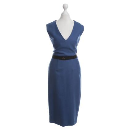 Victoria Beckham Blue dress with belt