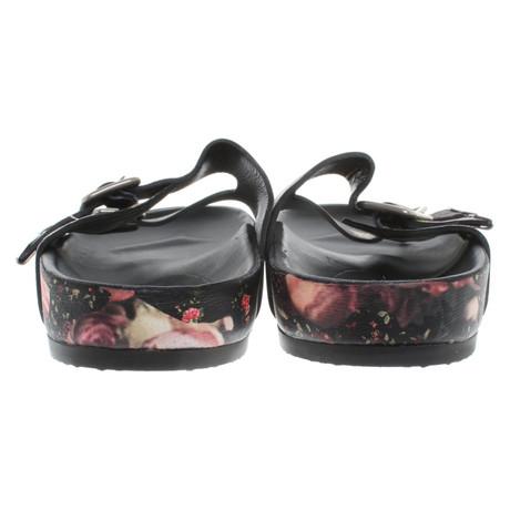Givenchy Givenchy Sandalen mit Print mit Muster floralem floralem Print Sandalen Bunt 5wIxqHt