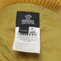 Versace Jacke in Gold-Gelb