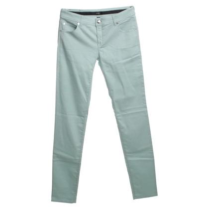 Armani Collezioni Jeans in turkoois
