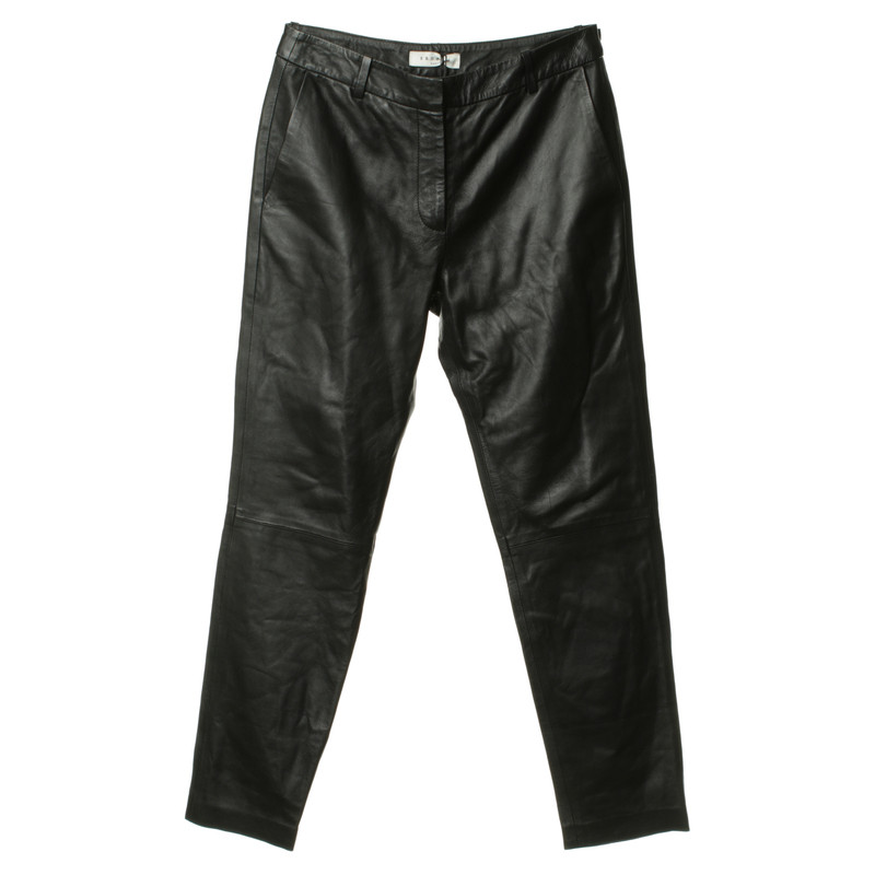 Sandro Leather pants in black