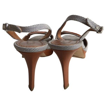Céline  sandals canvas