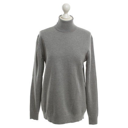 Edun Roll collar sweater in grey