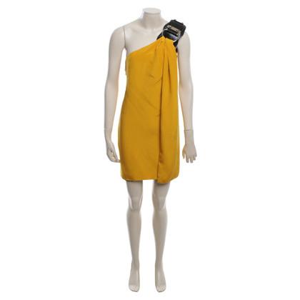 Gucci Silk dress in yellow