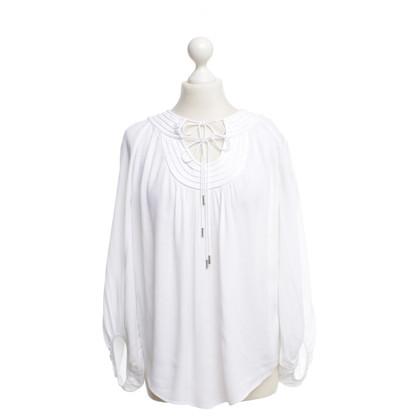 Diane von Furstenberg Witte zomer blouse
