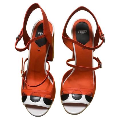 Fendi Sandalen Leather