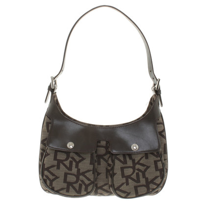 DKNY Handbag with logo pattern