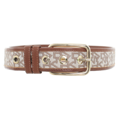 DKNY Belt with logo pattern
